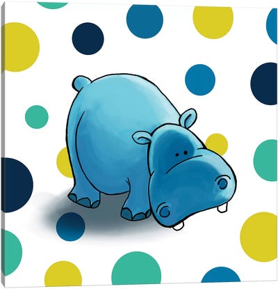 Hippo I Canvas Print #GPH45