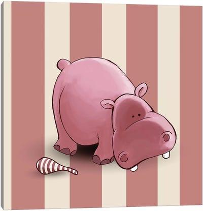 Hippo II Canvas Print #GPH46
