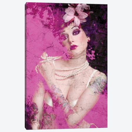 I'm Pink Canvas Print #GPH48} by GraphINC Canvas Wall Art