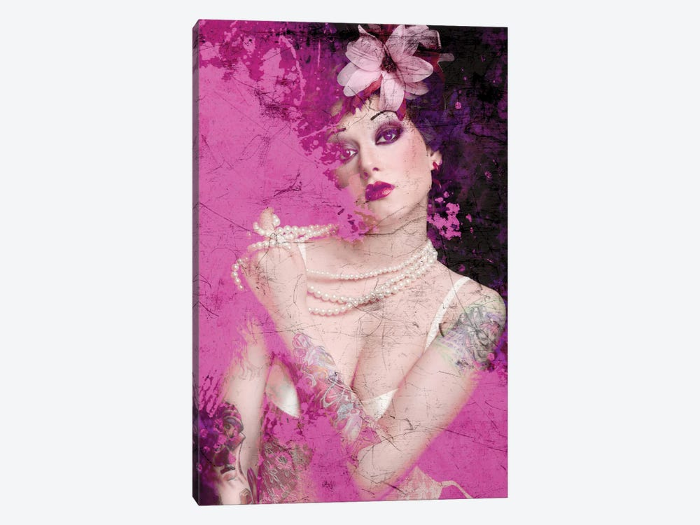 I'm Pink by GraphINC 1-piece Canvas Wall Art