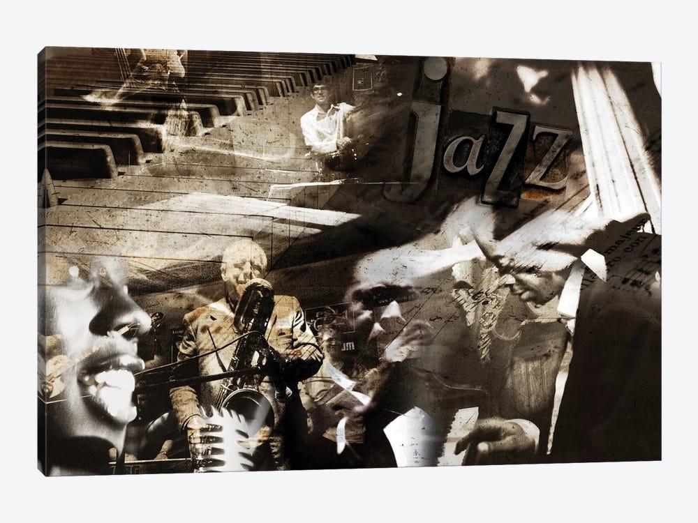Jazz by GraphINC 1-piece Canvas Art