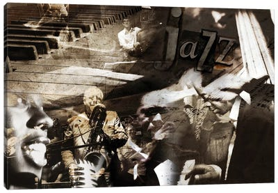 Jazz Canvas Art Print
