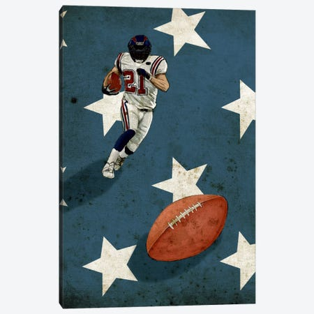 American Sports: Football II Canvas Print #GPH5} by GraphINC Canvas Art Print