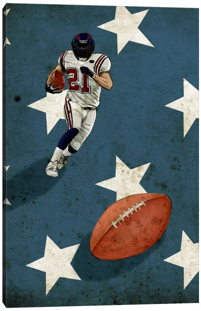 American Sports: Football II Canvas Art Print
