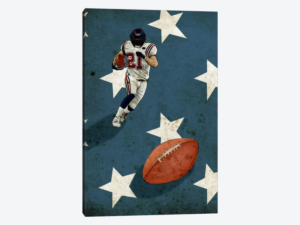 American Sports: Football II by GraphINC 1-piece Art Print