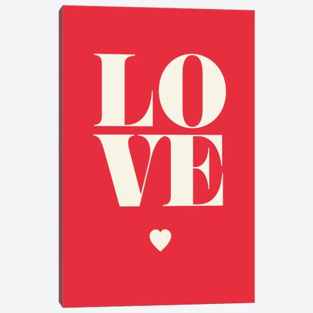 Love Canvas Print #GPH63} by GraphINC Canvas Wall Art