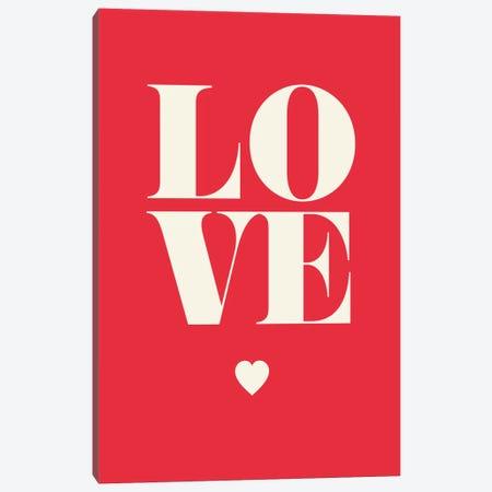 Love Canvas Print #GPH63} by GraphINC Canvas Wall Art