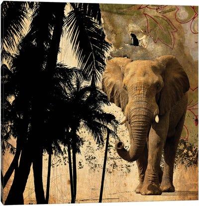 Mighty Elephant II Canvas Art Print