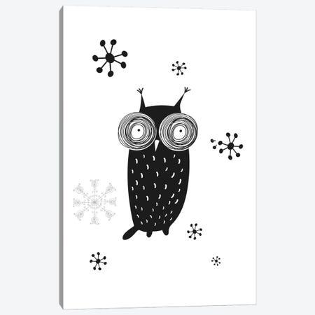 Owl I Canvas Print #GPH75} by GraphINC Canvas Wall Art