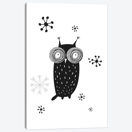 Owl I Canvas Print #GPH75} by GraphINC Canvas Wall Art