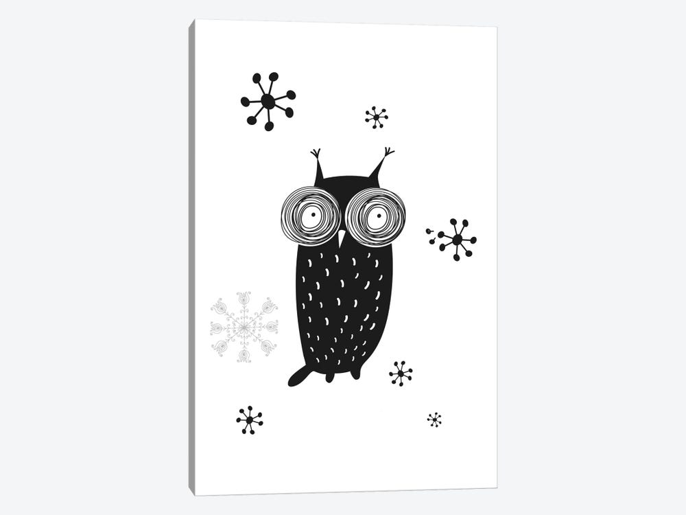 Owl I by GraphINC 1-piece Canvas Wall Art