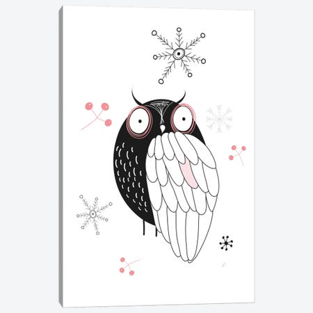 Owl II Canvas Print #GPH76} by GraphINC Canvas Artwork