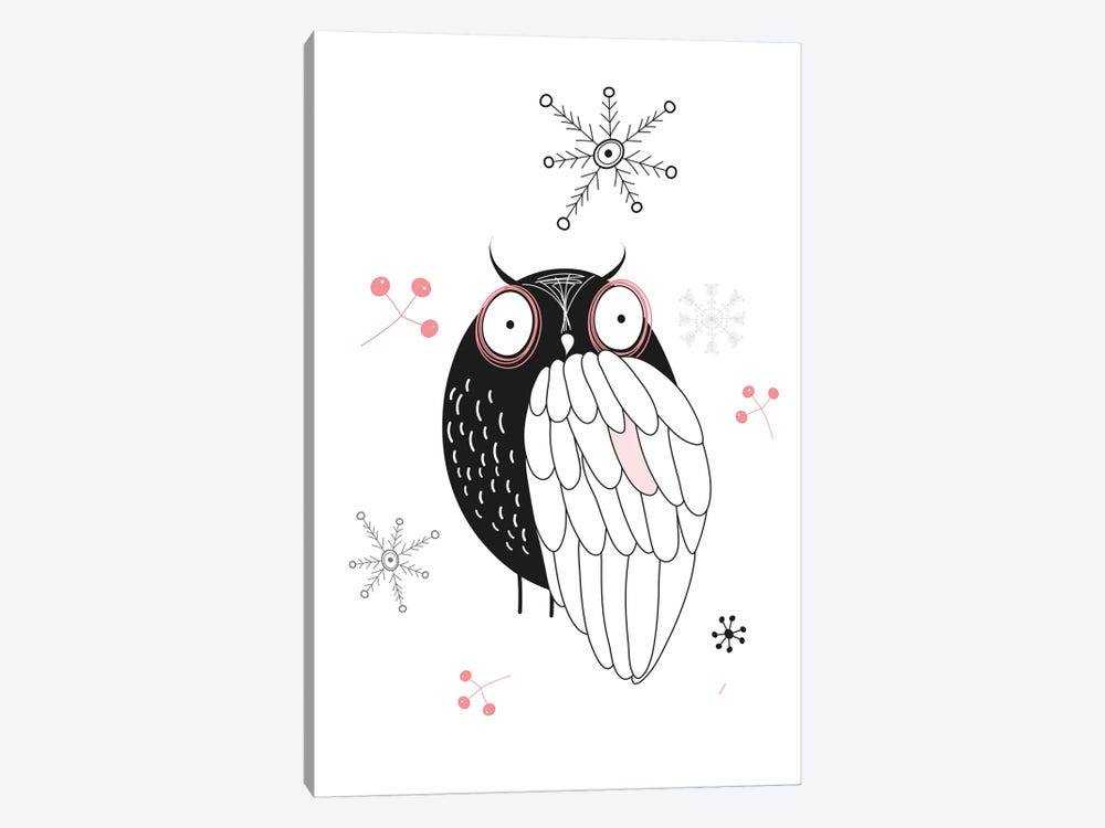 Owl II by GraphINC 1-piece Canvas Print