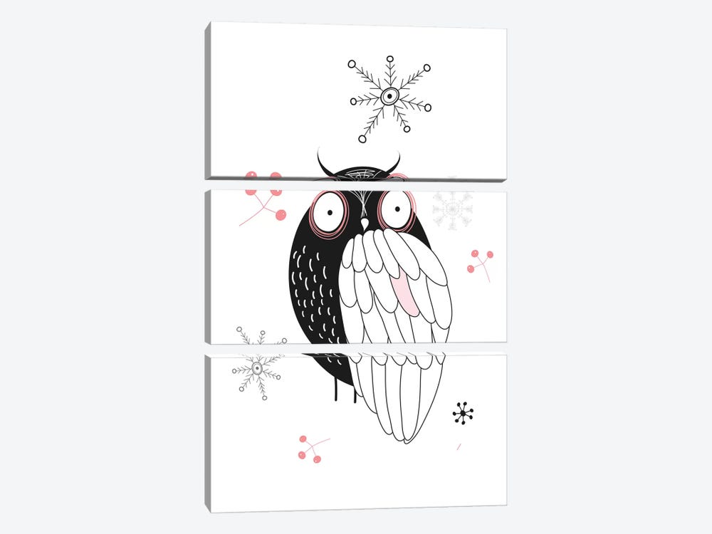 Owl II by GraphINC 3-piece Art Print