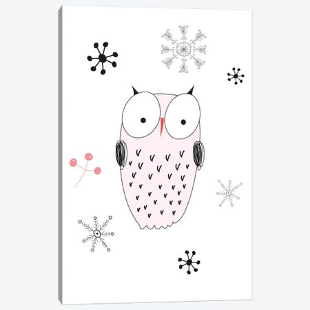 Owl III Canvas Print #GPH77} by GraphINC Canvas Wall Art