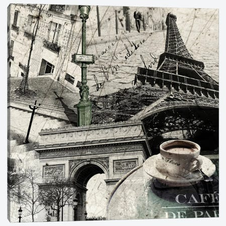 Paris Canvas Print #GPH79} by GraphINC Canvas Art Print