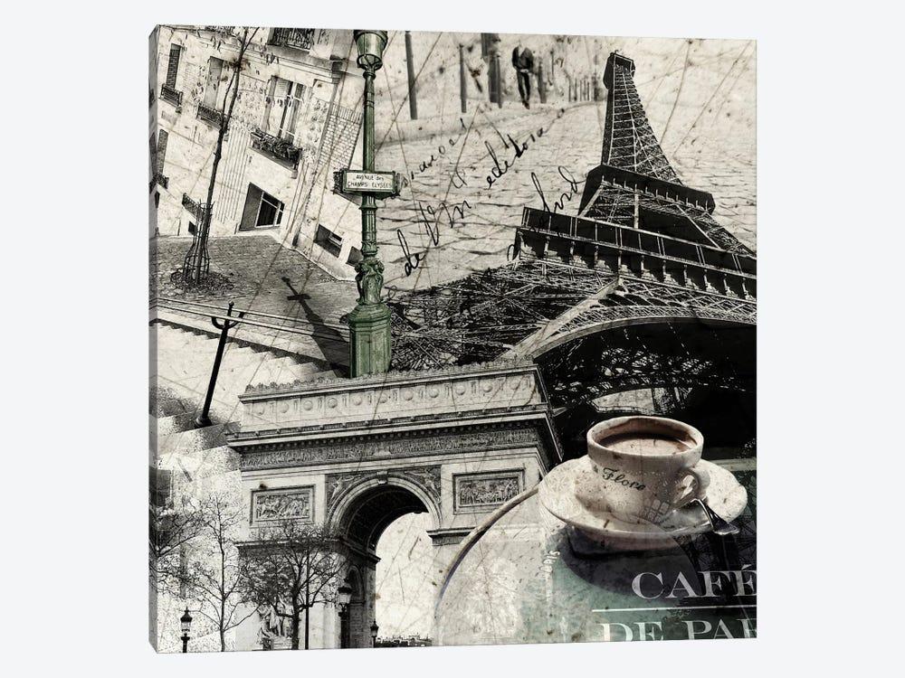 Paris by GraphINC 1-piece Canvas Artwork