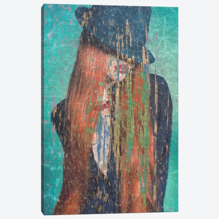 Red Hair Canvas Print #GPH81} by GraphINC Canvas Art