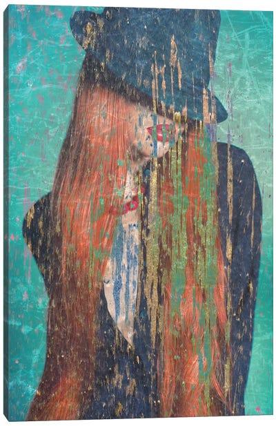 Red Hair Canvas Art Print