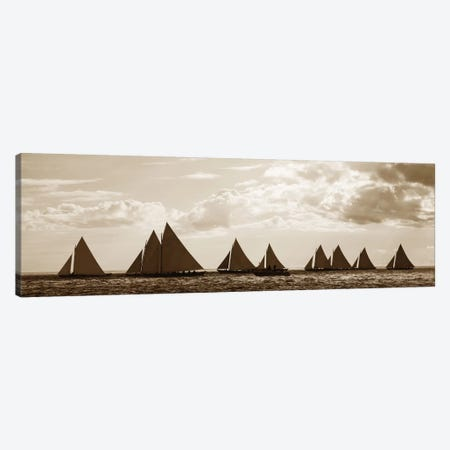 Sailboats Canvas Print #GPH83} by GraphINC Canvas Art