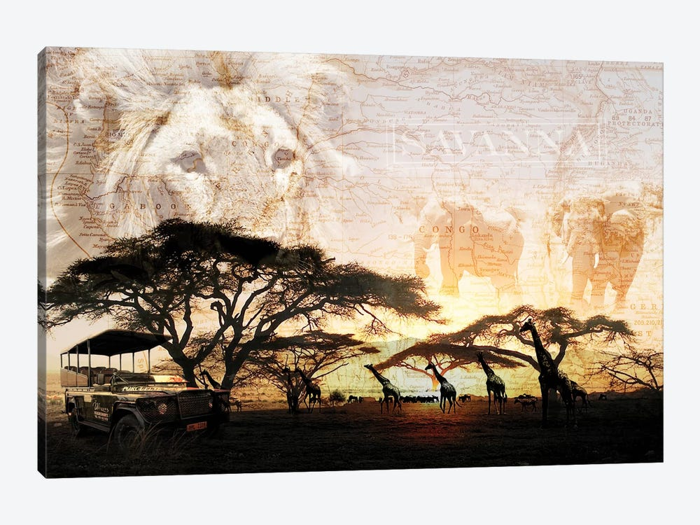 Savanna by GraphINC 1-piece Canvas Artwork