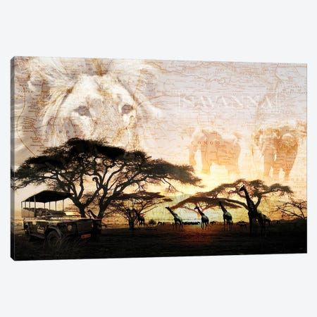 Savanna Canvas Print #GPH84} by GraphINC Art Print