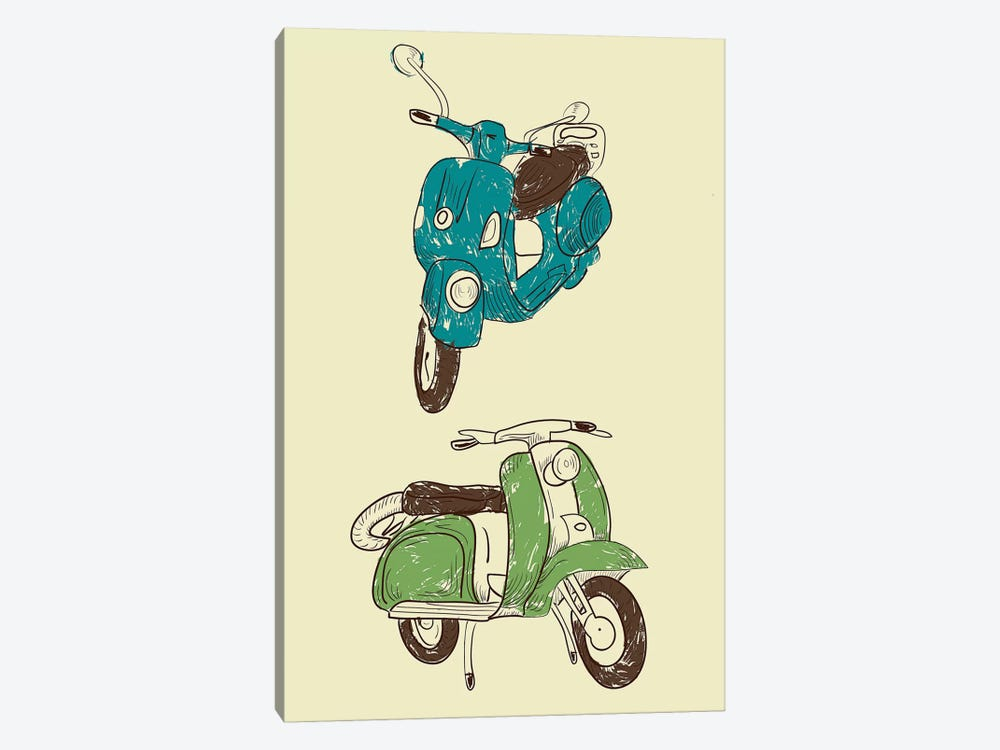 Scooter I by GraphINC 1-piece Art Print