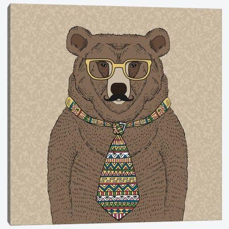 Bear-Man Canvas Print #GPH8} by GraphINC Canvas Artwork