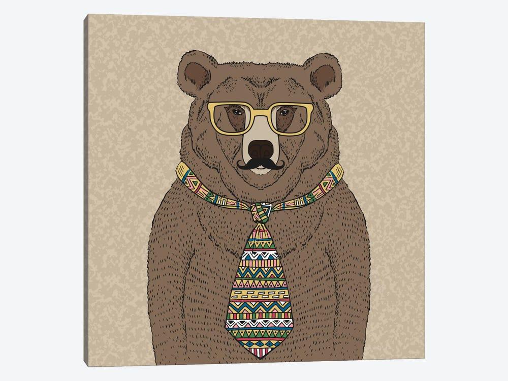 Bear-Man by GraphINC 1-piece Canvas Art