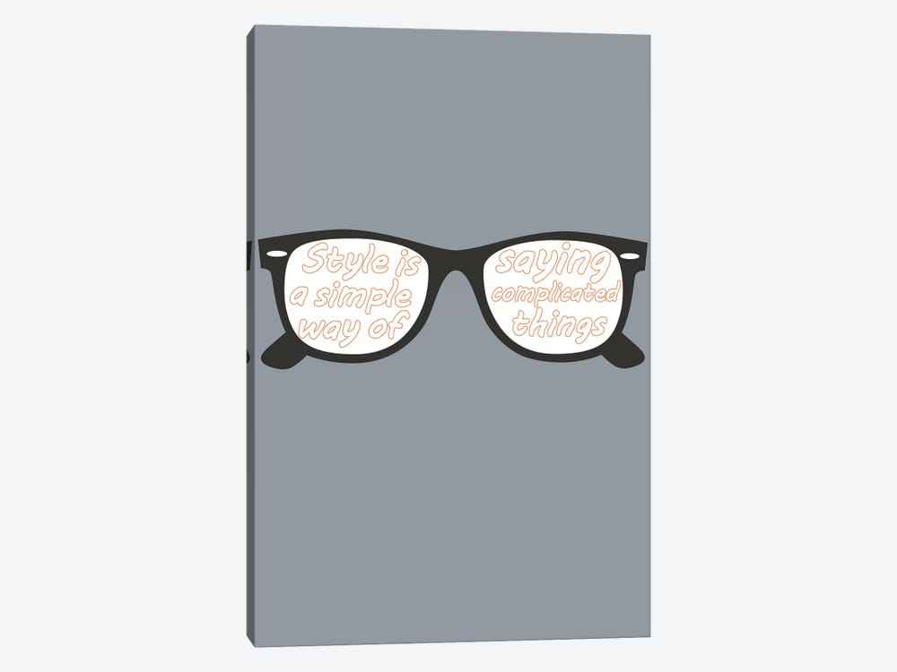 Style Glasses by GraphINC 1-piece Art Print