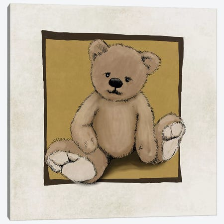 Teddy Bear Canvas Print #GPH94} by GraphINC Canvas Artwork