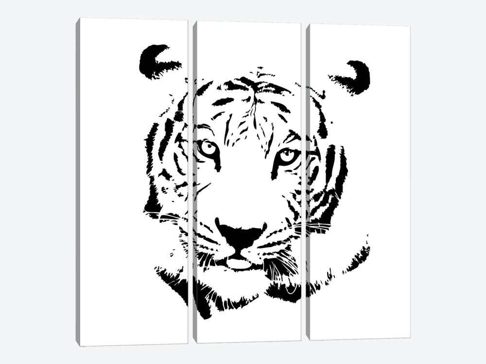 Tiger by GraphINC 3-piece Art Print