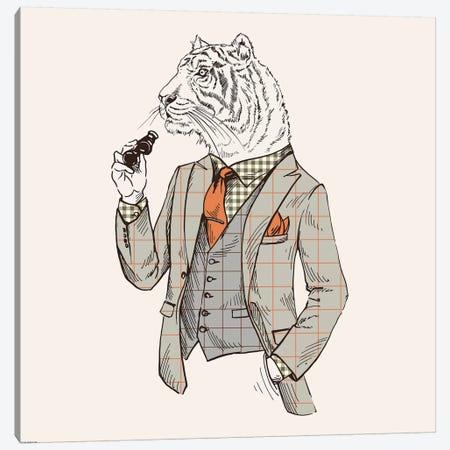 Tiger-Man Canvas Print #GPH97} by GraphINC Canvas Art