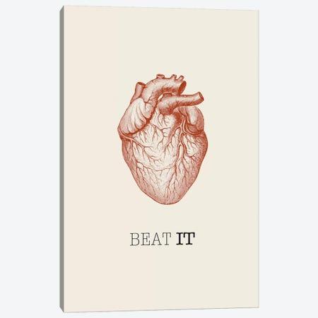 Beat It Canvas Print #GPH9} by GraphINC Canvas Art