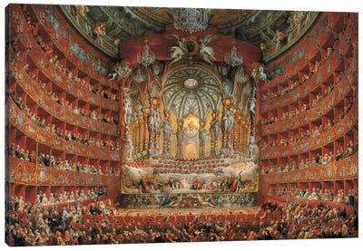 Festa In Teatro A Roma Canvas Art Print