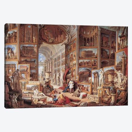 Vedute Di Roma Antica Canvas Print #GPP2} by Giovanni Paolo Panini Art Print