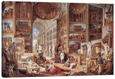 Vedute Di Roma Antica Canvas Art Print
