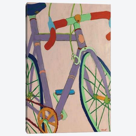 Lavender Bike Canvas Print #GRA15} by Sue Graef Canvas Artwork