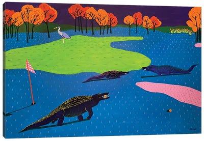 Have A Good Round Canvas Art Print