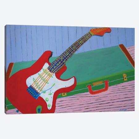 Guitar Canvas Print #GRA6} by Sue Graef Canvas Art