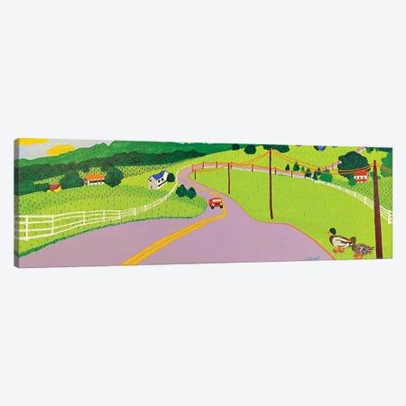 Joanie's drive Canvas Print #GRA79} by Sue Graef Canvas Art Print
