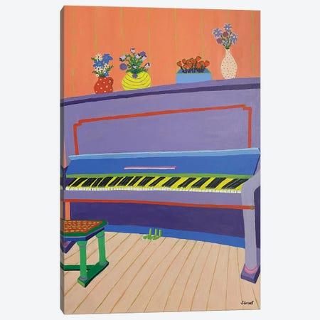 Piano Canvas Print #GRA8} by Sue Graef Canvas Art Print