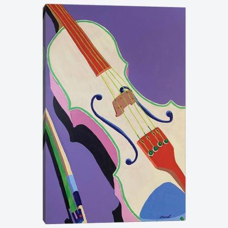 Violin Canvas Print #GRA9} by Sue Graef Canvas Art Print