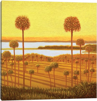 Autumn Rhapsody Canvas Art Print