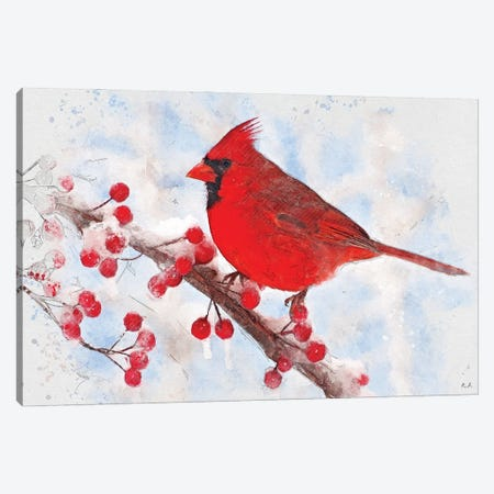 Cardinal Canvas Print #GRC117} by Greg & Company Canvas Artwork