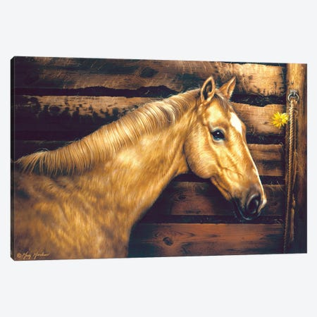 Inside The Stall Canvas Print #GRC128} by Greg & Company Canvas Wall Art