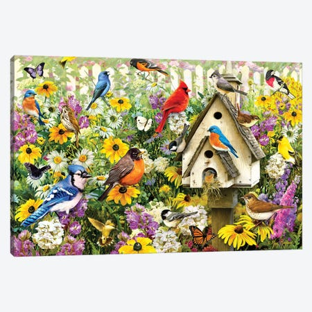 Chapel Birds Canvas Print #GRC13} by Greg & Company Canvas Art Print