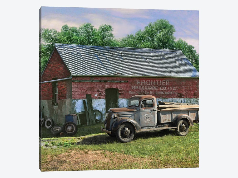 Frontier Truck by Greg & Company 1-piece Canvas Artwork
