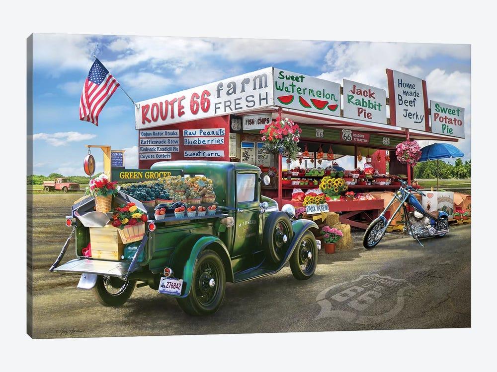 Nostalgic America Farmstand by Greg & Company 1-piece Art Print