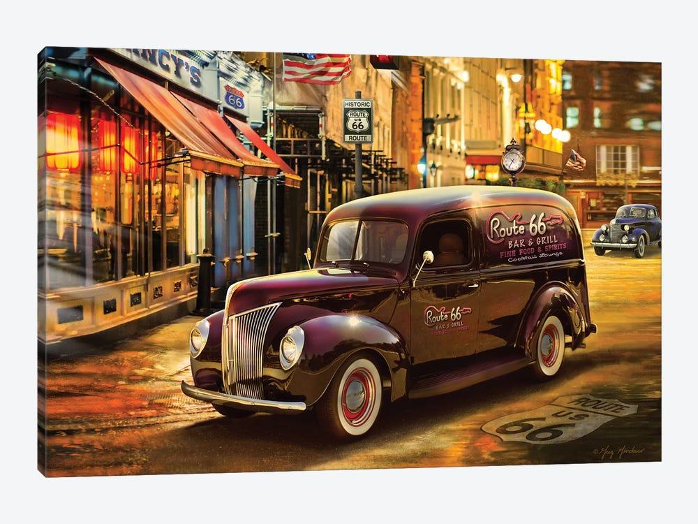 Nostalgic America Panel Truck by Greg & Company 1-piece Canvas Print